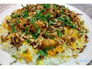 ام سيف لطبخ برياني الهندي