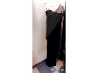 فستان سهره مستعمل لبسة وحده فقط