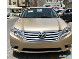 TOYOTA AVALON LIMITED 2012 FULL OPTION CUSTOM PAPER CLEAN TITLE