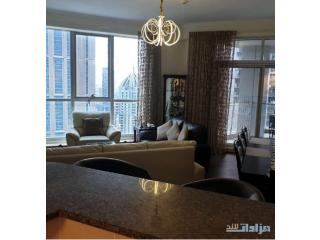 عييش الرفاهية وامتلك شقة فى ارقى اماكن دبي مرينا غرفتين مفروشة جاهزة اطلالة على مارينا والجولف