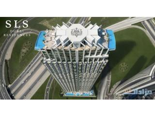 بموقع خيالي تملك شقتك في أرقى المشاريع بدبي مشروع SLS دبي