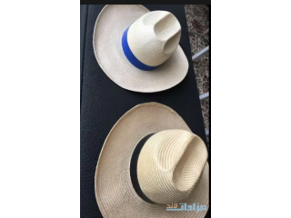 Twin Straw hats