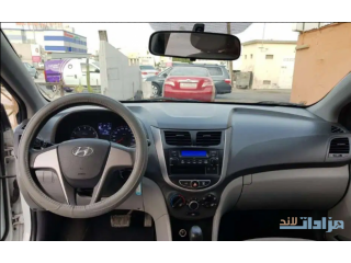 Hyundai accent 1.6 model 2016 zero accidant urgent sale