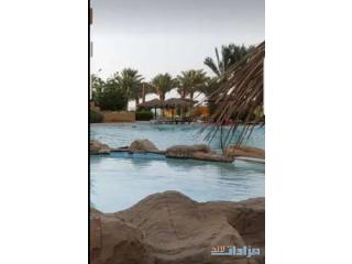 غرفه ستديو للإيجار داخل منتجع سياحي ع البحر