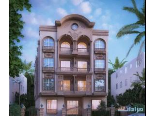 شقة بمنطقة 24اكتوبر علي المسطح اخضر اخر شقة