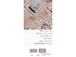 أرض سكنية للبيع طريق اذرح بجانب مدرسة عبدالرحمن بن عوف