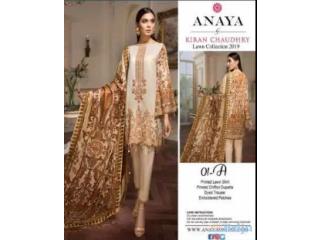 Excellent quality pakistani lawn un stitched dresses