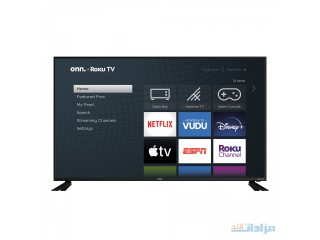 "Onn. 58"" Class 4K UHD HDR Roku Smart LED TV [***]"