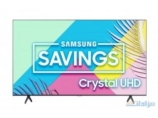 "SAMSUNG 65"" Class 4K Crystal UHD (2160P) LED Smart TV with HDR UN65TU [***]"