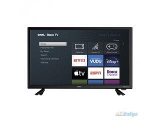 "Onn. 24"" Class 720P HD LED Roku Smart TV [***]"