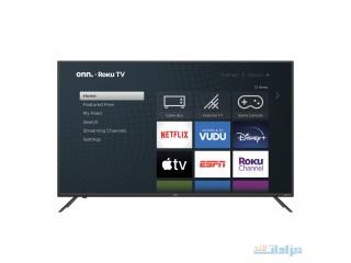 "Onn. 55"" Class 4K UHD HDR Roku Smart LED TV [***]"