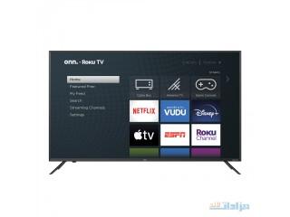 "Onn. 50"" Class 4K UHD LED Roku Smart TV HDR [***]"
