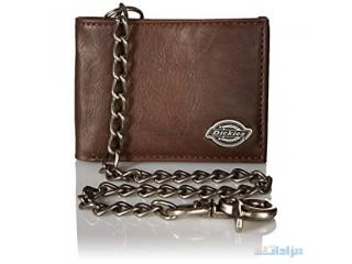 Ickies Men's Bifold Chain WalletD