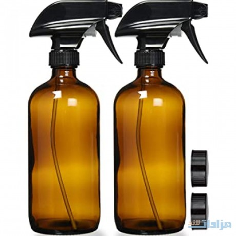 empty-amber-glass-spray-bottles-with-labels-big-0