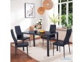 costway-5-piece-kitchen-dining-set-glass-metal-table-and-4-chairs-breakfast-furniture-small-0