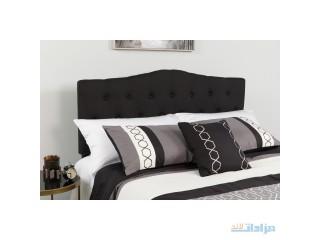 Flash Furniture Cambridge Tufted Upholstered Headboard, Queen, Black