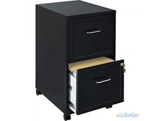 Lorell File Cabinet, Black - LLR16872