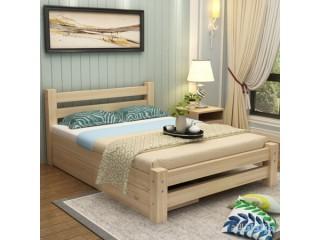 Nova Shamme Single bed solid wood bed pine adult Beds