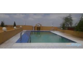 لقطة اللقطات فيلا على ارض مساحة ٣٥٠٠متر ملبسة ٤واجهات مع مسبح بسعر شقة