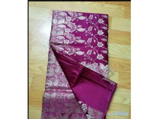 Maed hand saree