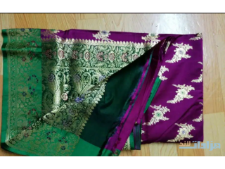 Hand made saree