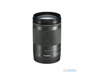 New Canon EF-M 18-150mm f/3.5-6.3 IS STM Lens (Graphite)