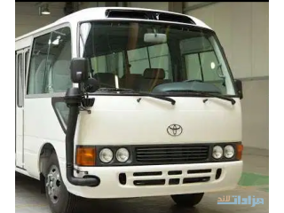 Coaster Buses available for Rent/Leasing