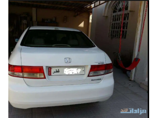 Honda accord 2004 With 5 Digit Number Plate(84 96 1)