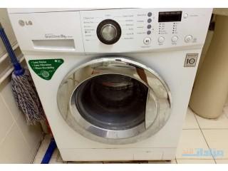 LG fully automatic washing machine/ 4 door wardrobe for sale