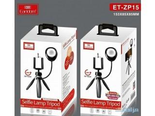 Earldom Mini Smartphone Tripod with Selfie Lamp