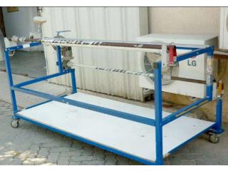 Fabric length measuring machine