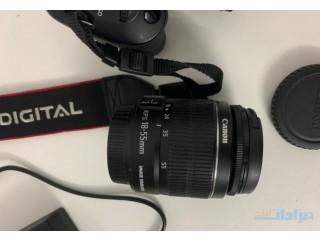 كاميرا كانون D600 مع عدستين