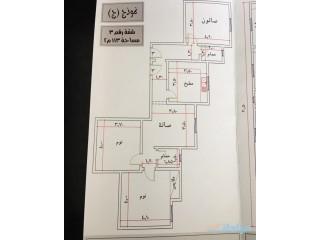 شقة تحت الإنشاء 3 غرف في حي الواحة(الفهد) 280.000
