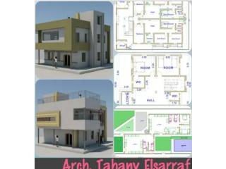 تصميم مخططات معمارية وواجهات