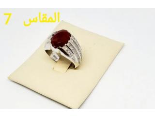 خاتم فضة ايطالية بسعر التصفية3خواتم ب100ريال