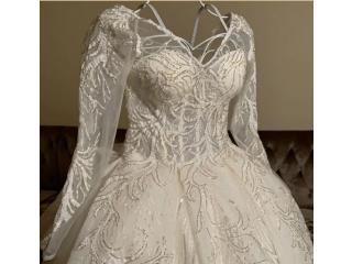 فستان زفاف جديد