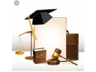 تحضير أبحاث ماجستير ودكتوراة - بحوث متخصصة - تدريس مواد القانون