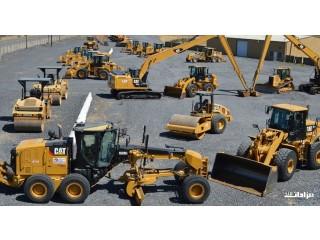 شراء وبيع جميع أنواع المعدات الجديدة والمستعملة وقطع الغيار