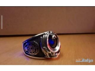 خاتم شرطة تركي فضة أصلي