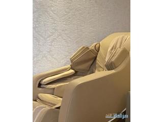 كرسي مساج استخدام بسيط جدا